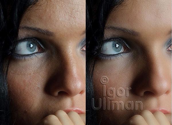 гламурная ретушь